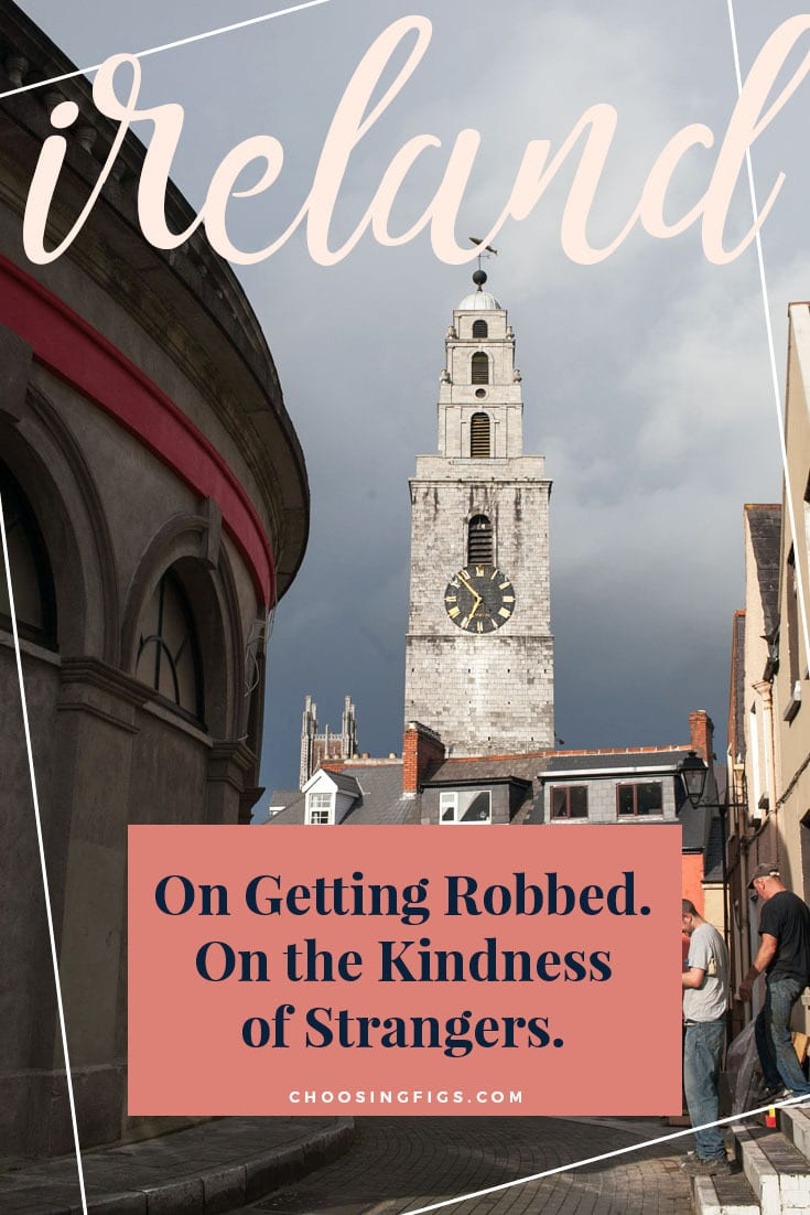On Getting Robbed. On the Kindness of Strangers. My laptop was stolen from a hostel in Cork, Ireland.