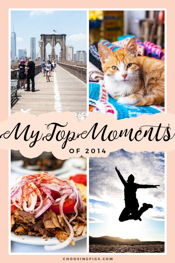 My Top Moments of 2014