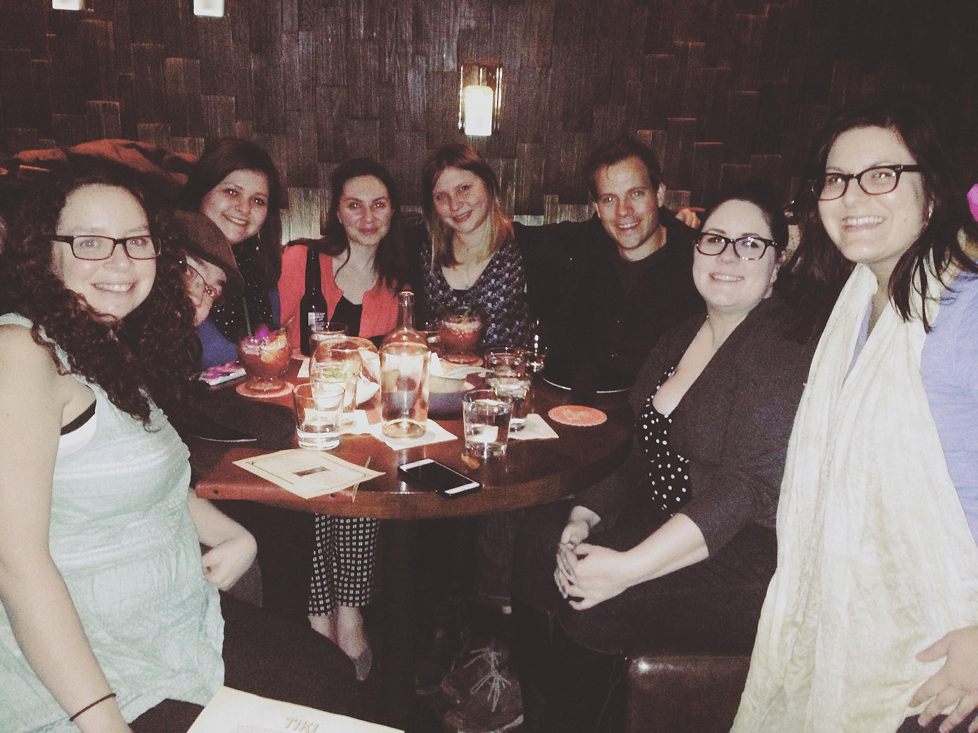 My 34th Birthday Party at Three Dots and a Dash
