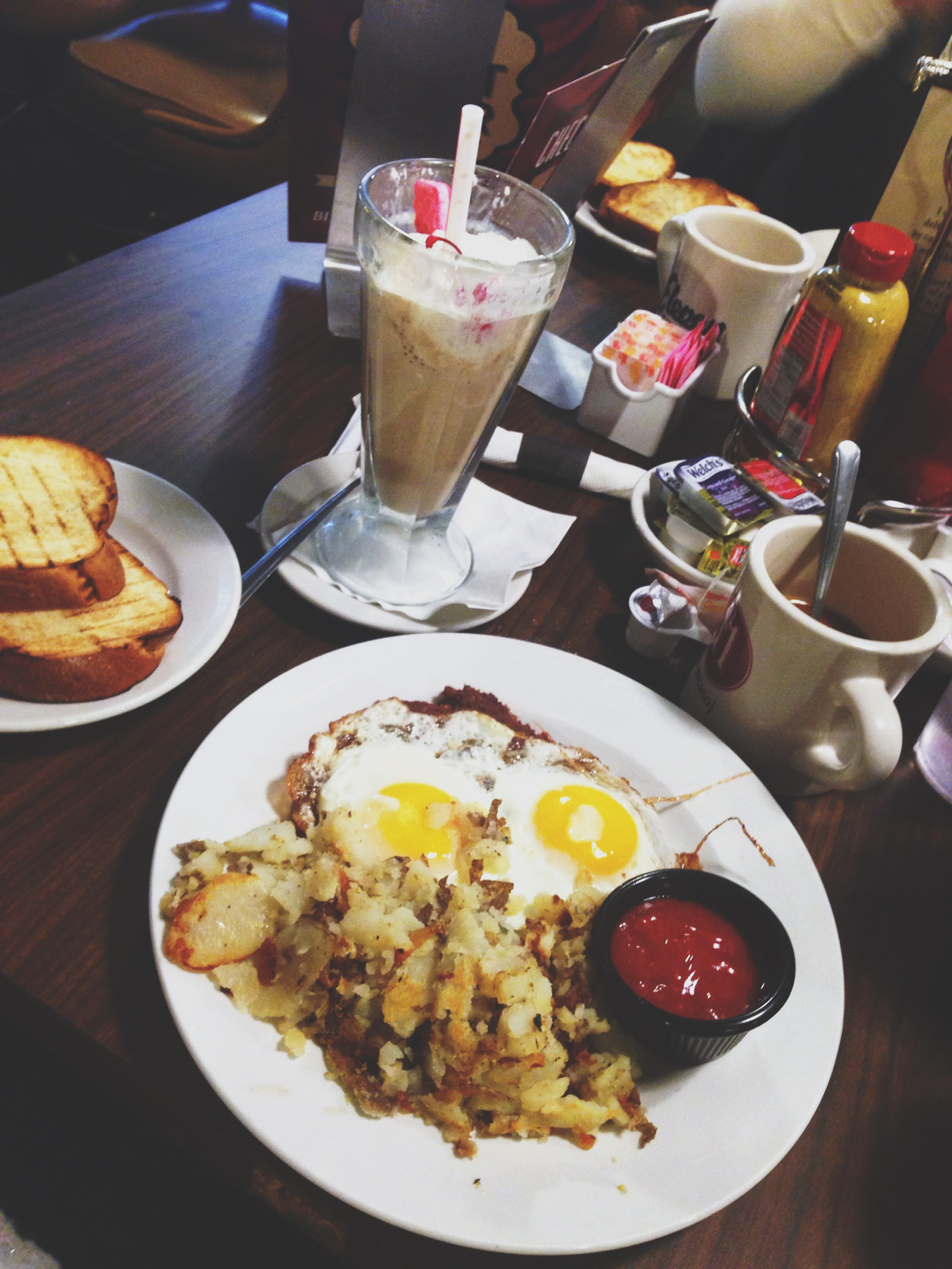 Pastrami and Corned Beef Hash at Eleven City Diner