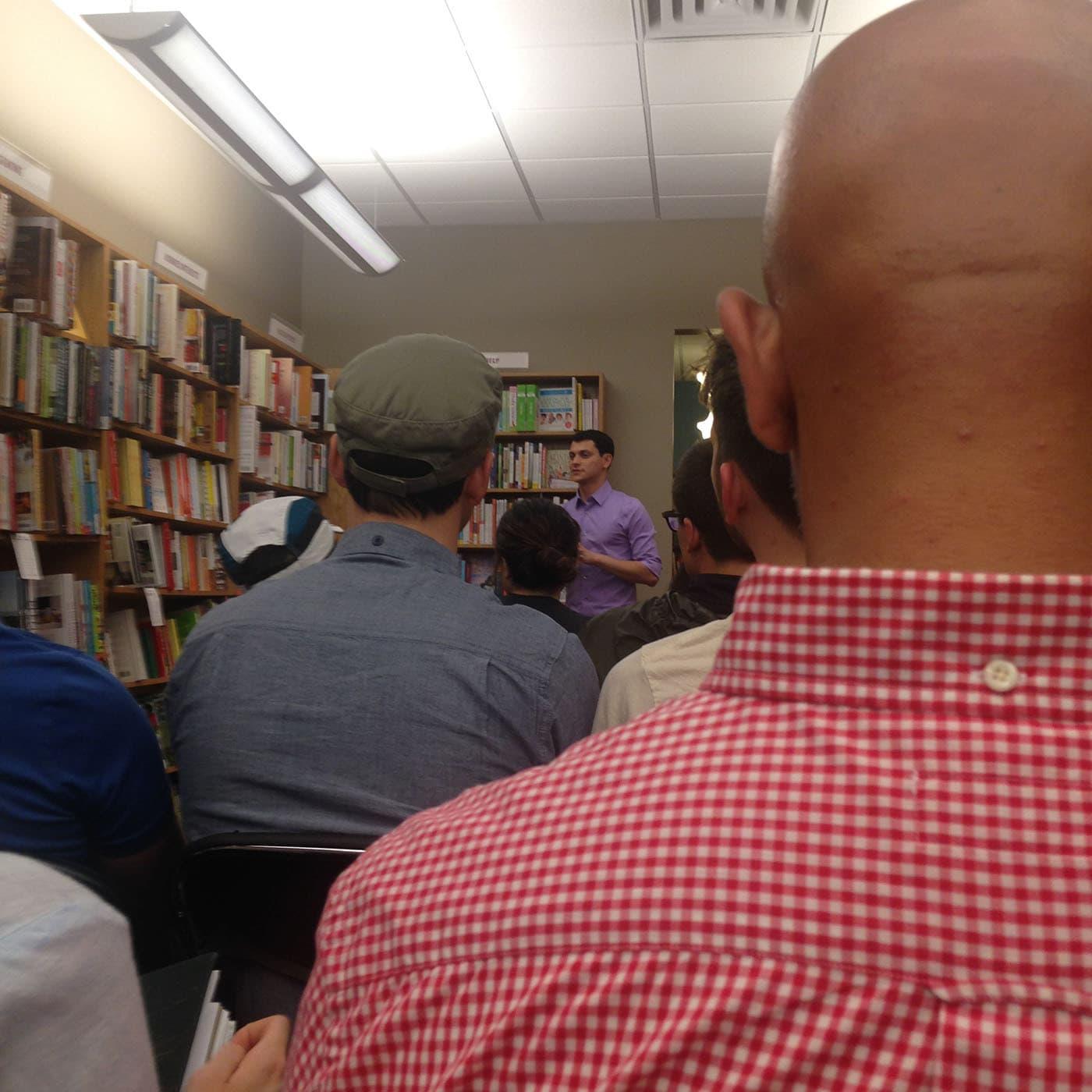 Matt's Book Tour