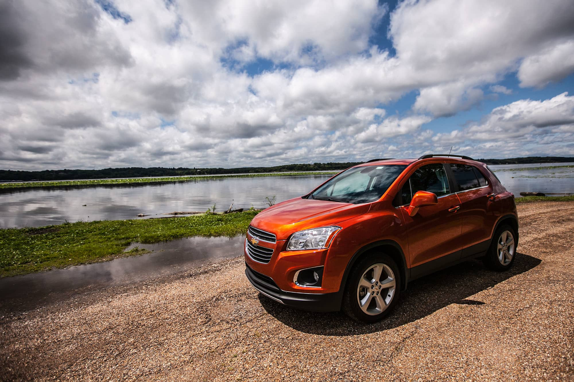 Chevy Trax on the Missisippi RIver