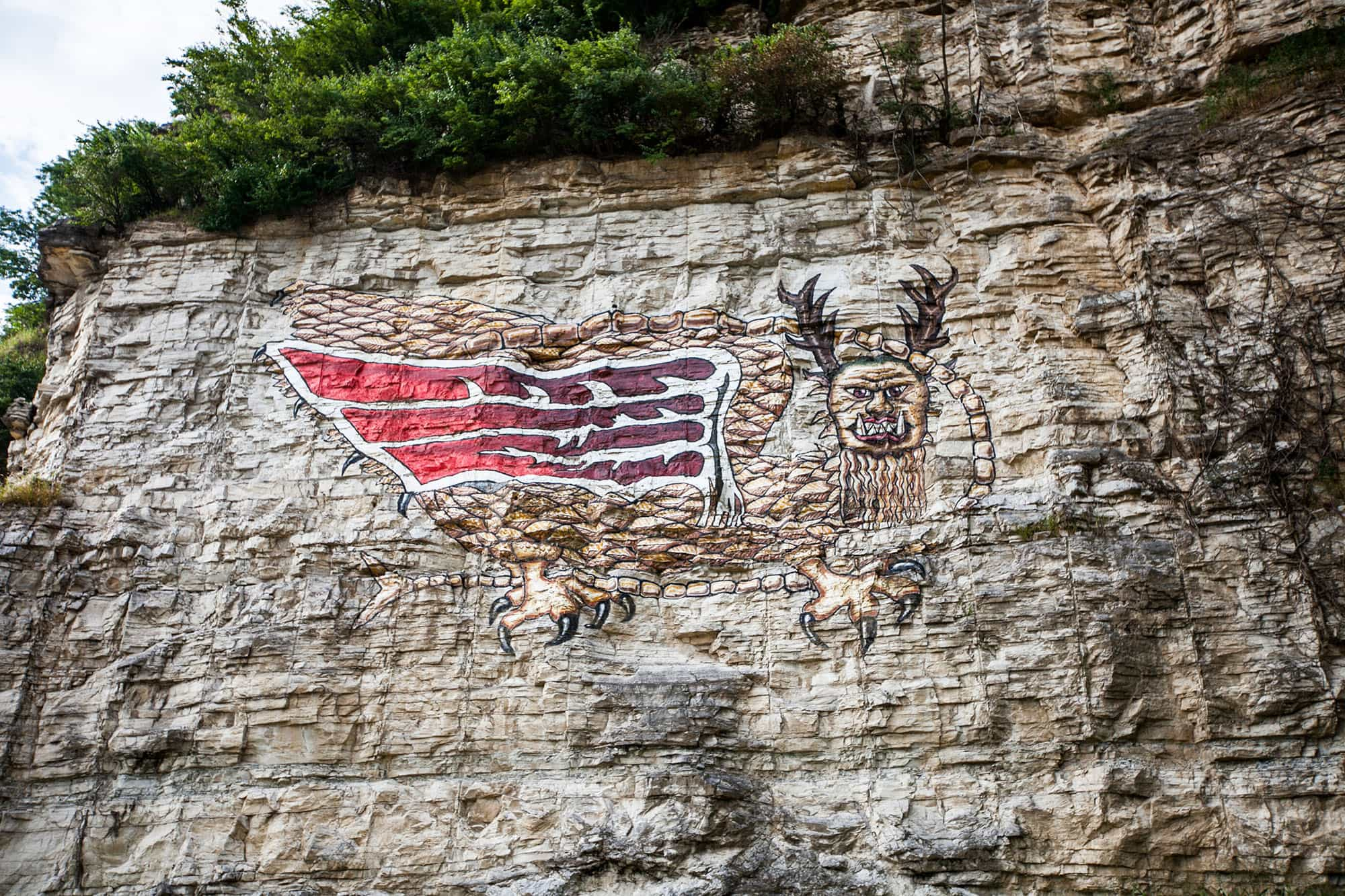 Alton, Illinois - Piasa Bird