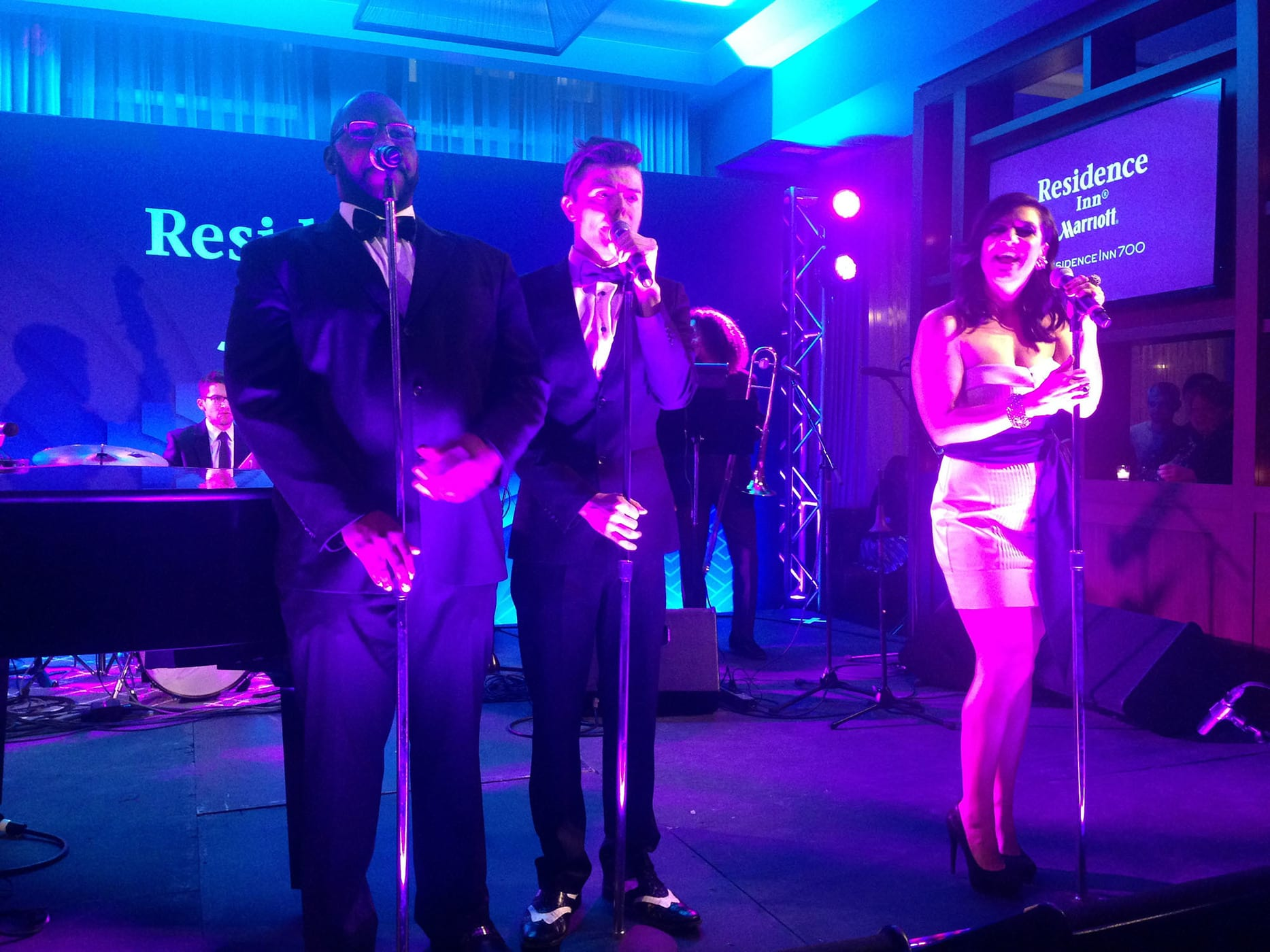 Postmodern Jukebox at the Marriot Residence Inn grand opening in Chicago