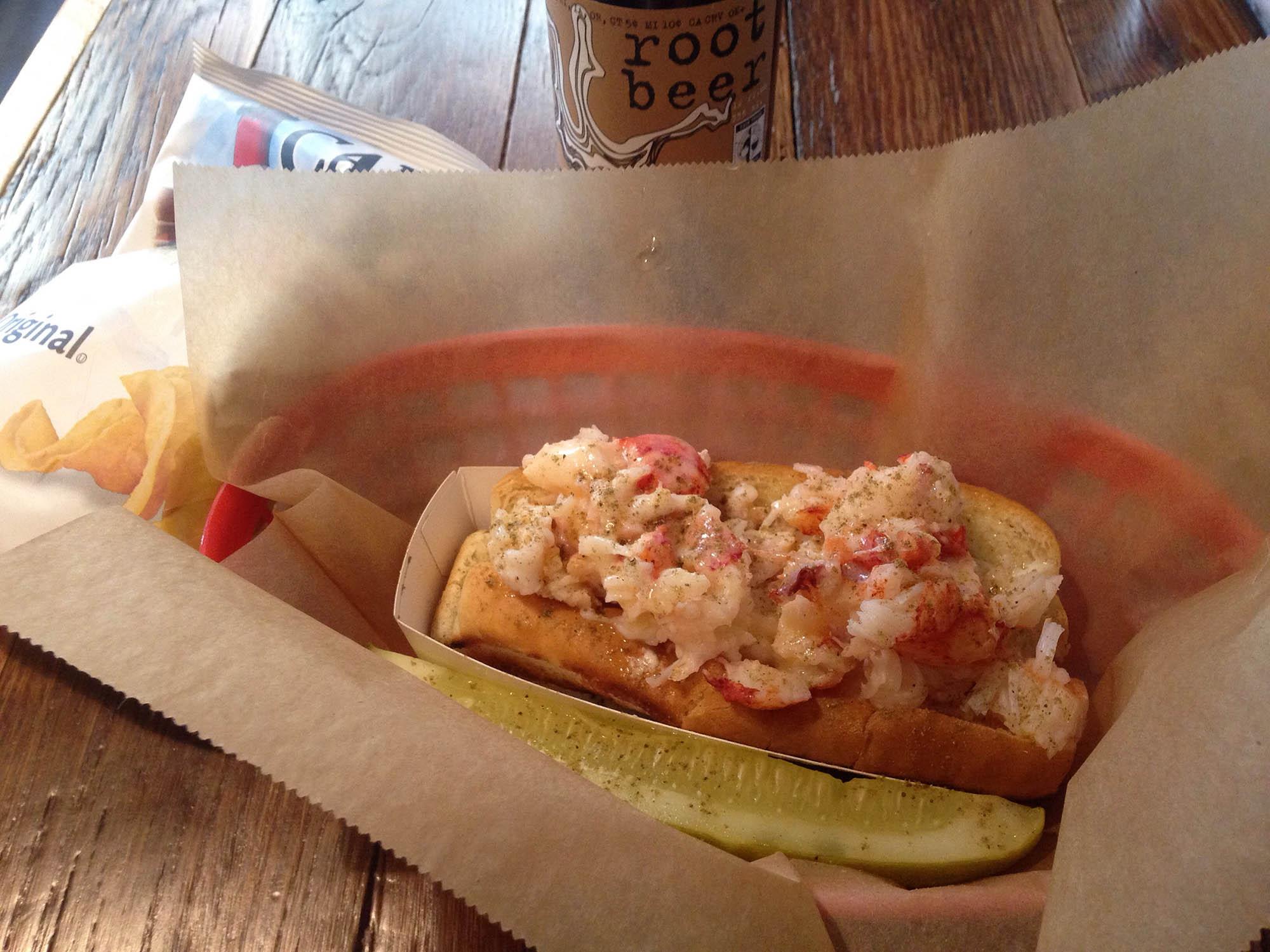 Lobster Roll at Luke's Lobster