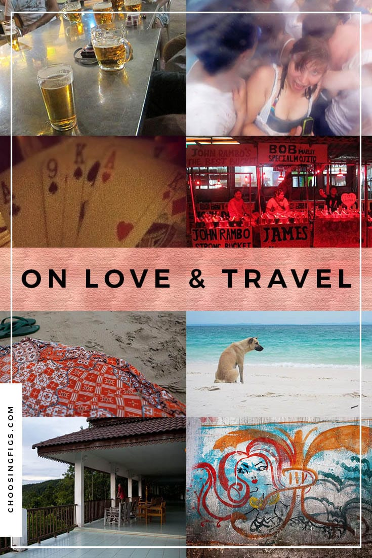 On love and travel. Relationships around the world.