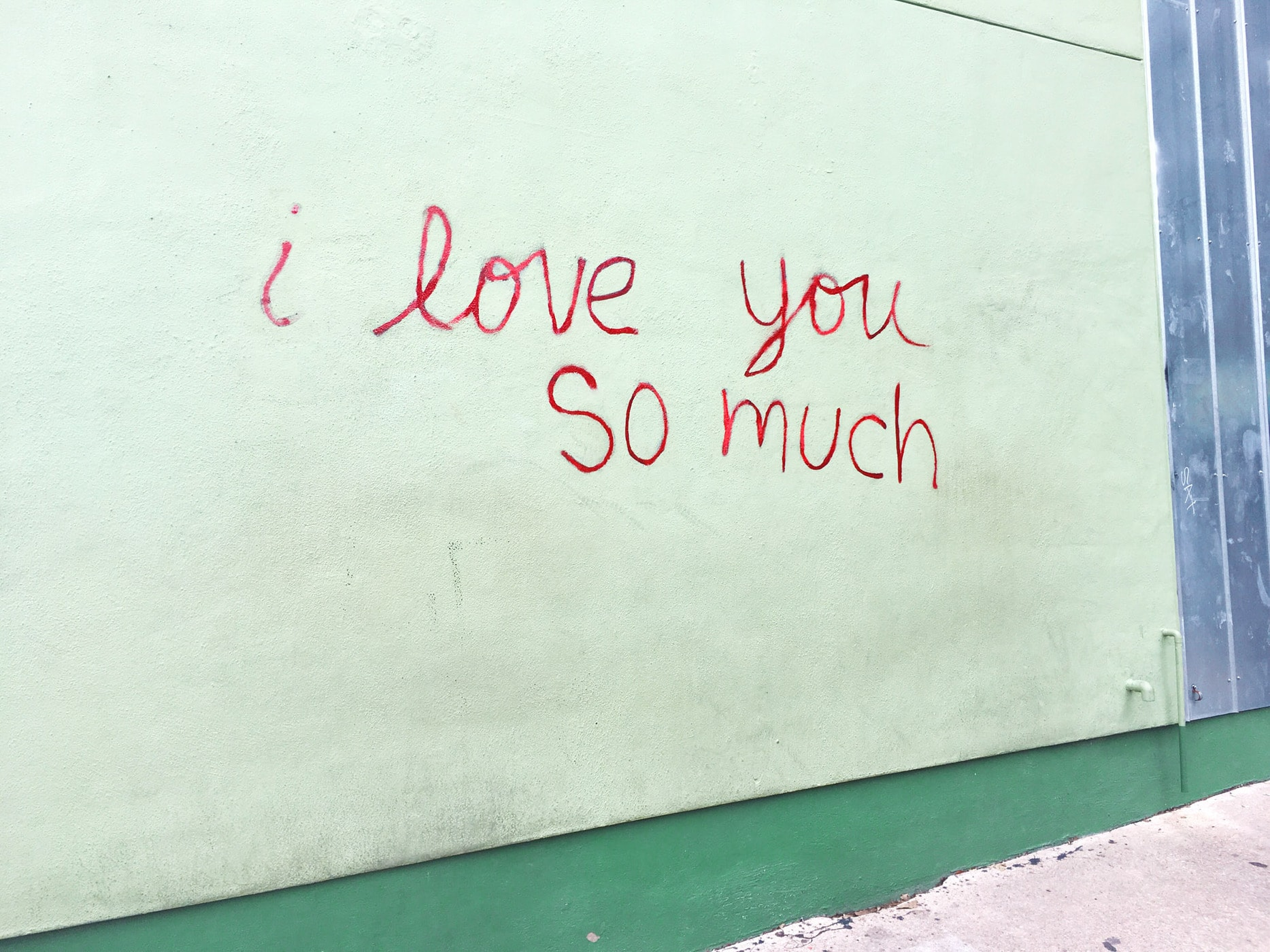I love you so much sign in Austin