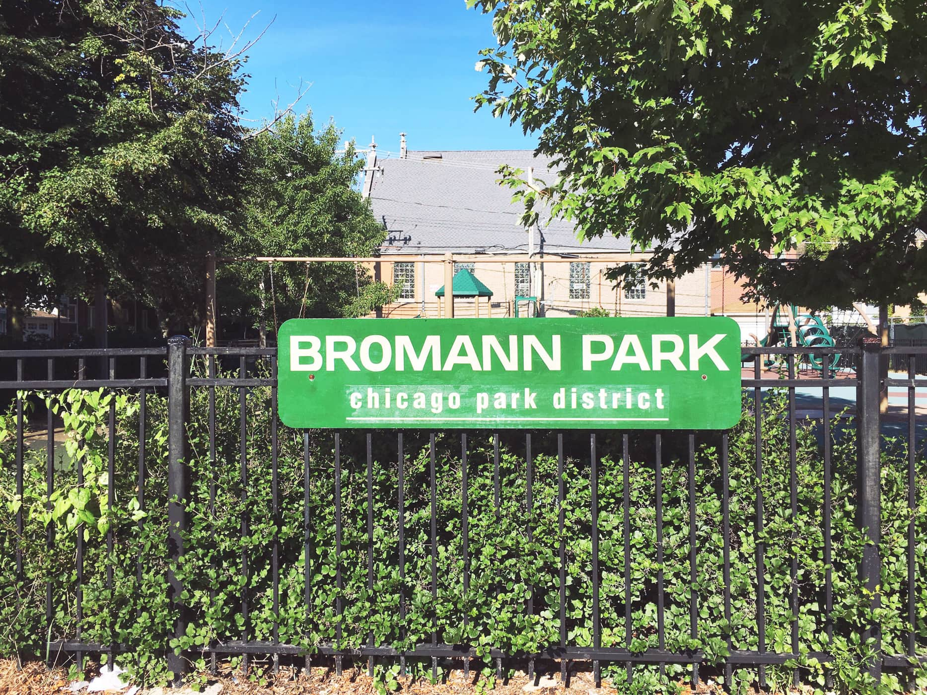 Bromann Playlot Park Chicago