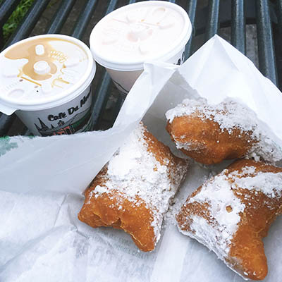 Life List - #115 Eat beignets from Cafe Du Monde in New Orleans.