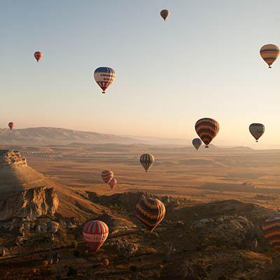Life List - #12 Ride on a hot air balloon.