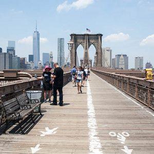 Life List - #183 Walk across the Brooklyn Bridge.
