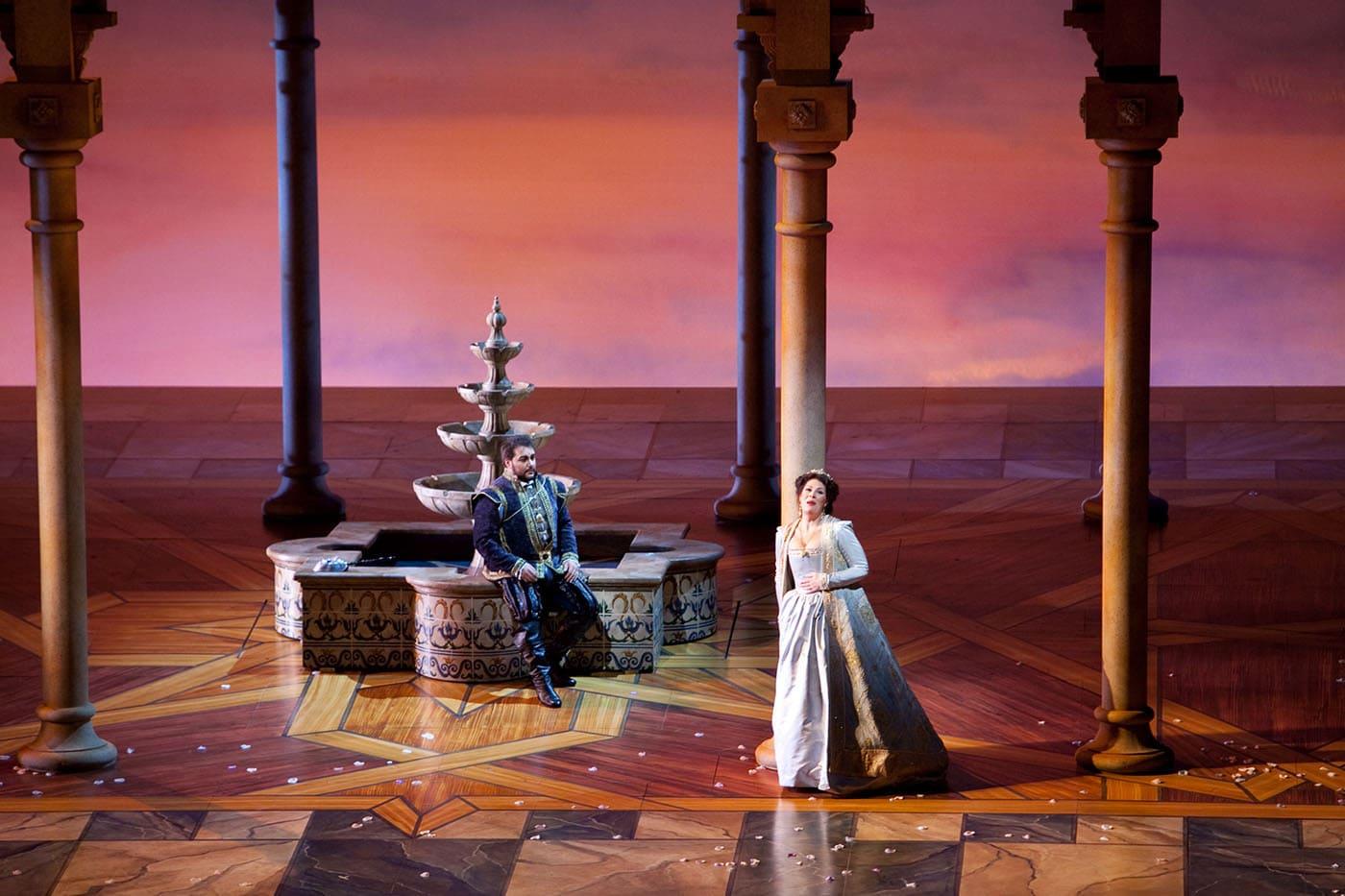 Photos from Giuseppe Verdi's Ernani at Lyric Opera of Chicago.