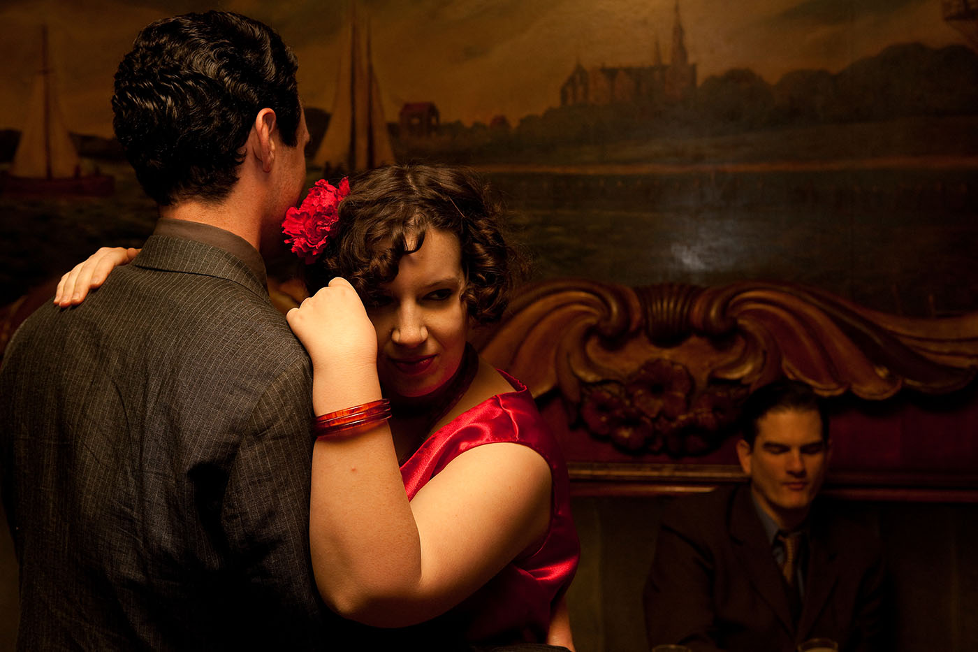 Publicity photos from Chicago's Project 891 Theatre Company's inaugural production, Never The Sinner.
