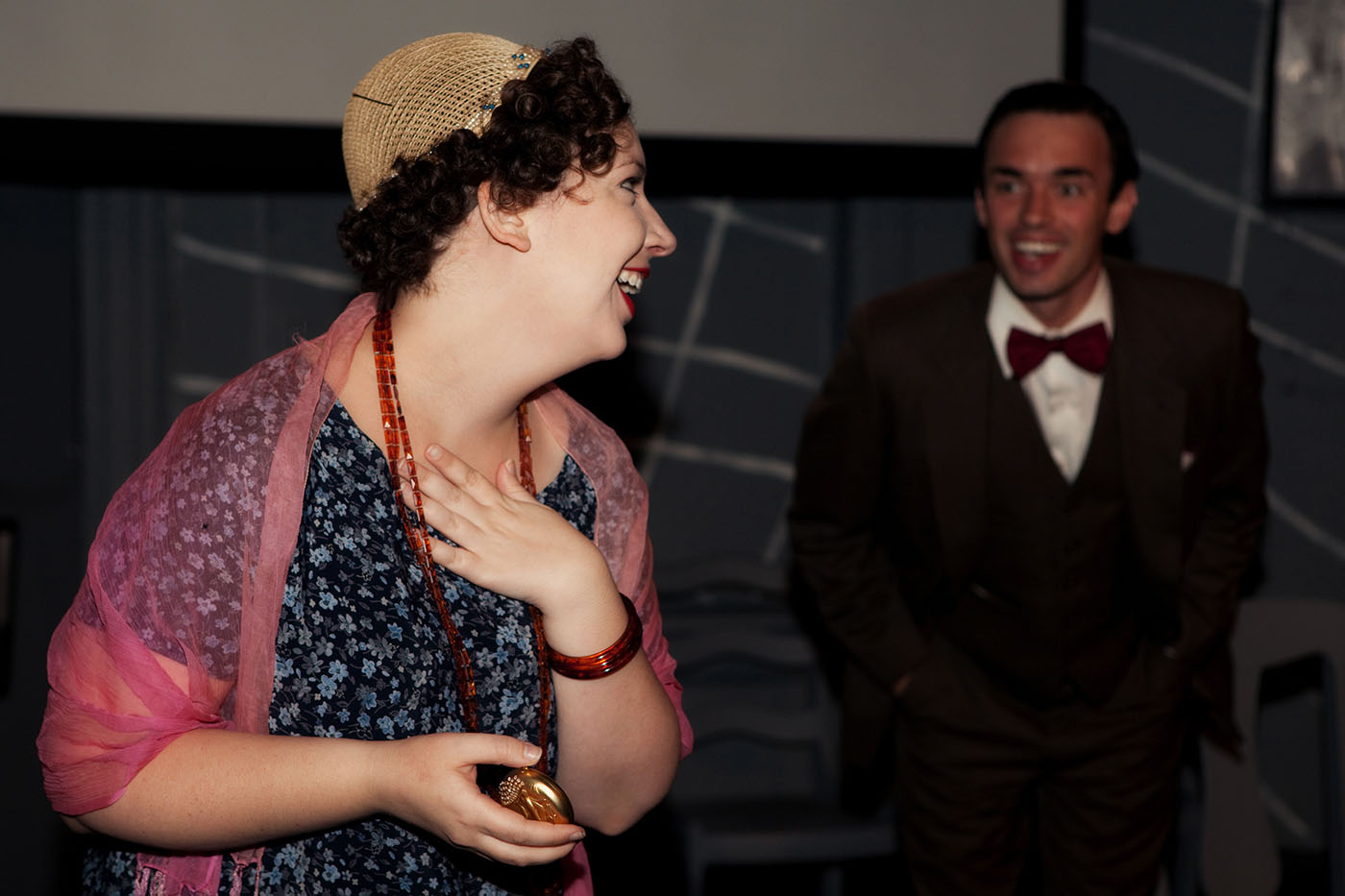 Production photos from Chicago's Project 891 Theatre Company's inaugural production, Never The Sinner.