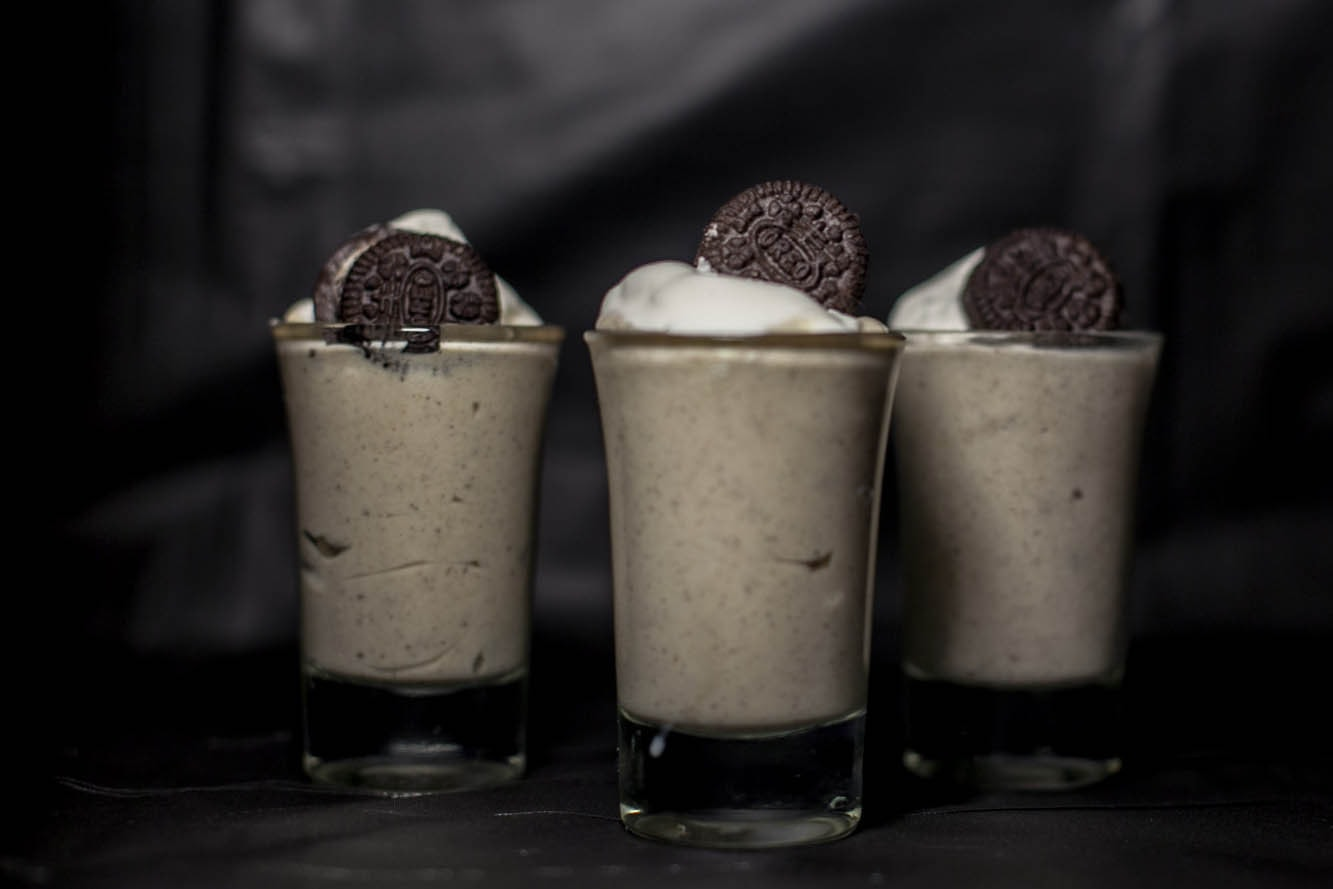 Oreo Cookies and Cream Pudding Shots Recipe