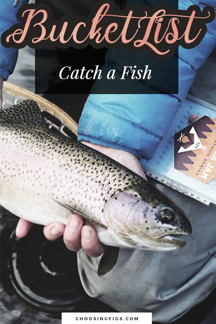 BUCKET LIST IDEAS: Catch a fish.