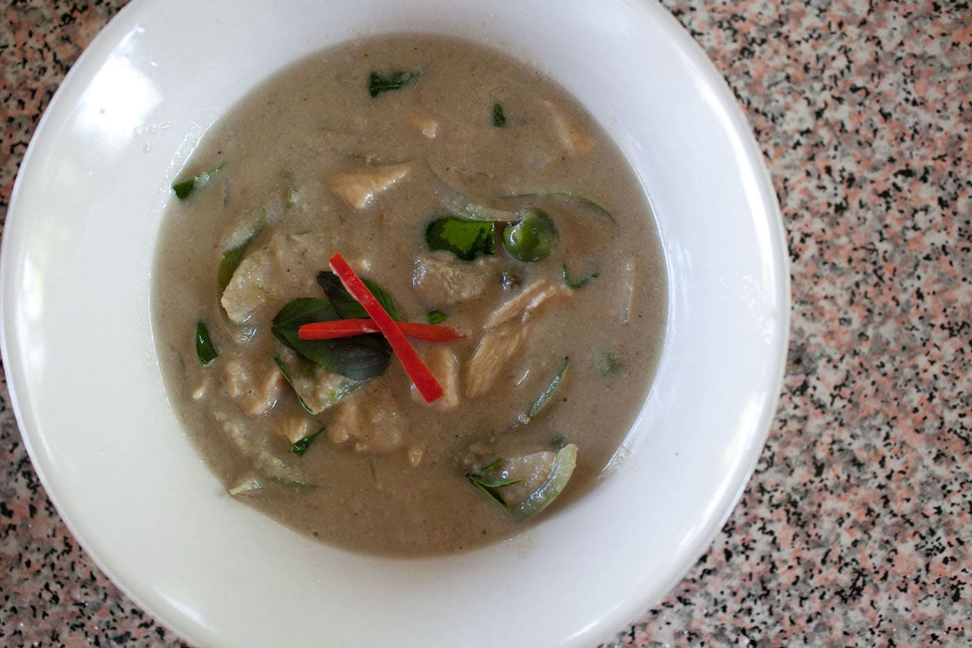 Thai Green Curry with Chicken Recipe (Gaeng Kiew Waan Gai)