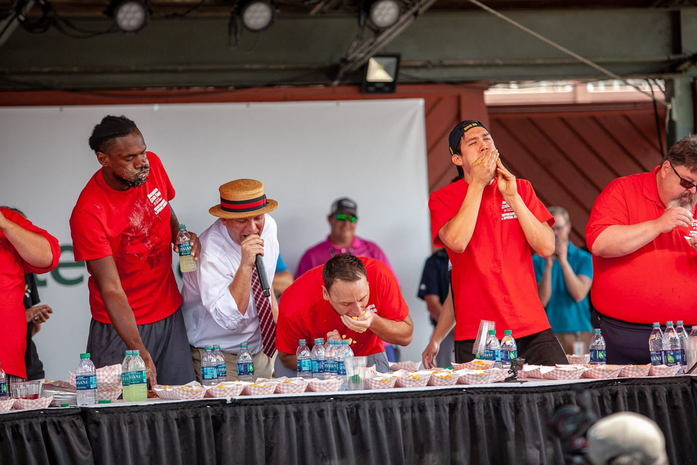 The Wisconsin State Fair World Cheese Curd Eating Championship