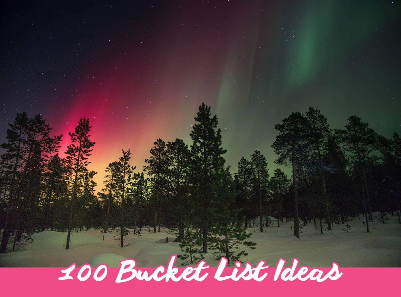 100 bucket list ideas for things to do before you die | Bucket List Inspiration & Ideas