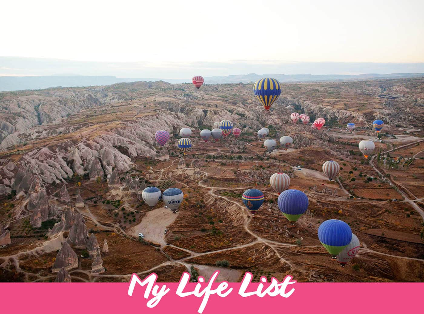 My Life List - 1,000 Things to do in Life | Bucket List Inspiration & Ideas | Bucket List Inspiration & Ideas