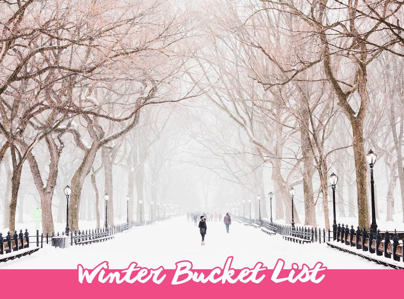 Winter Bucket List - Things to do in Winter | Bucket List Inspiration & Ideas