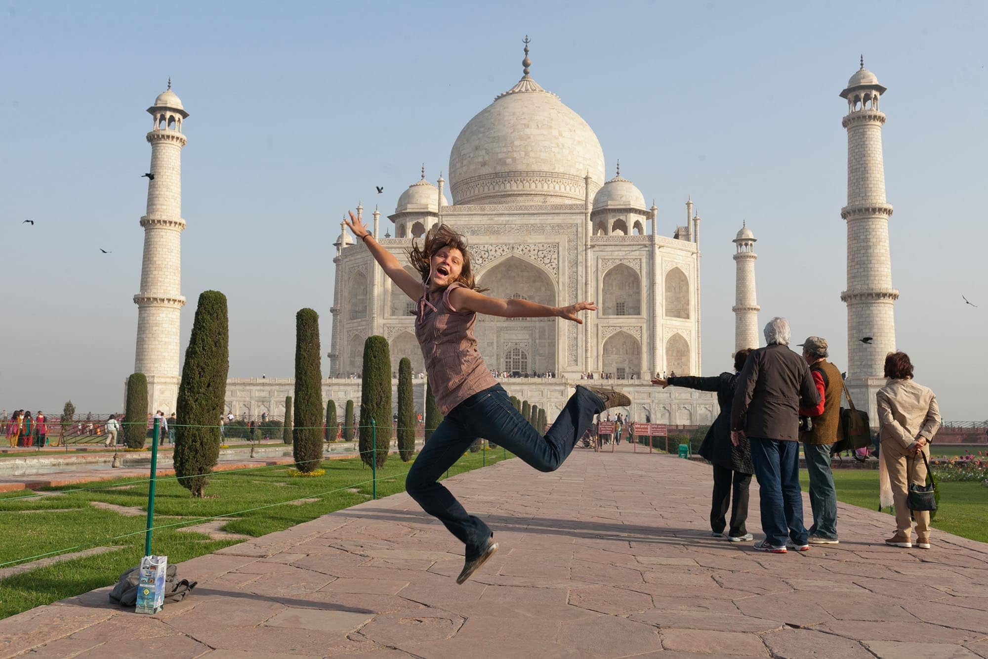 I visited the Taj Mahal in Agra, India. | 38 things I've done in my life.
