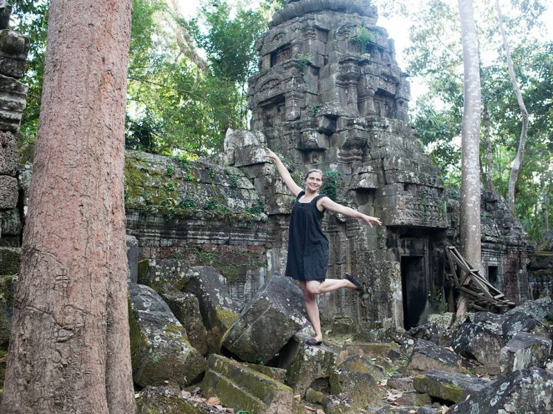 I watched the sunrise at Angkor Wat and explored the ruins. | 38 things I've done in my life.