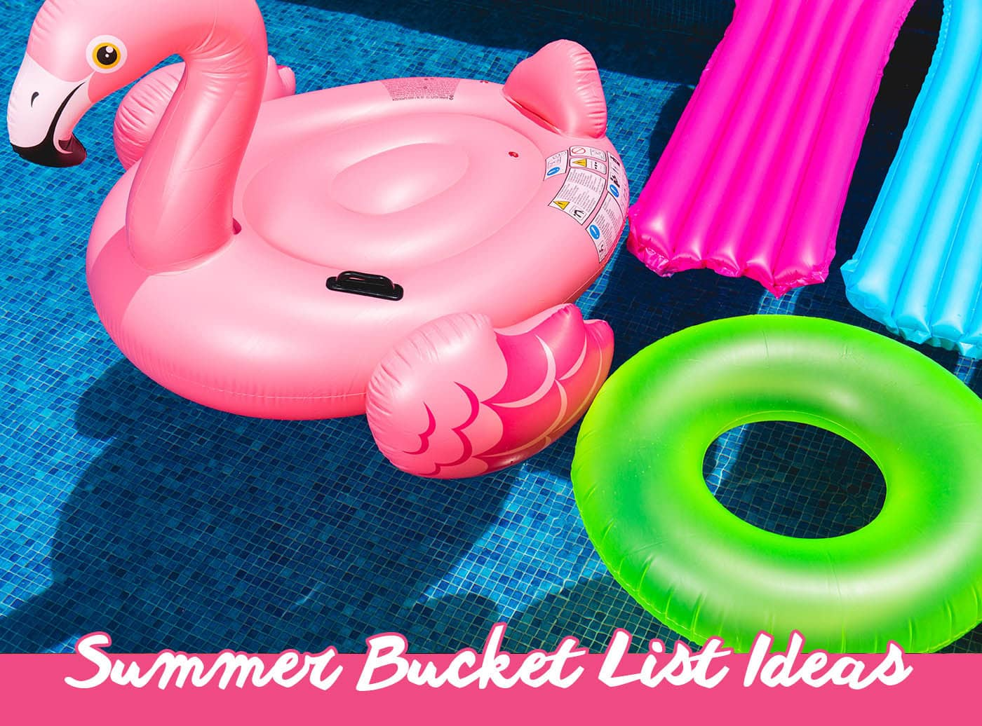 Summer Bucket List - 50 Things to do in Summer | Bucket List Inspiration & Ideas