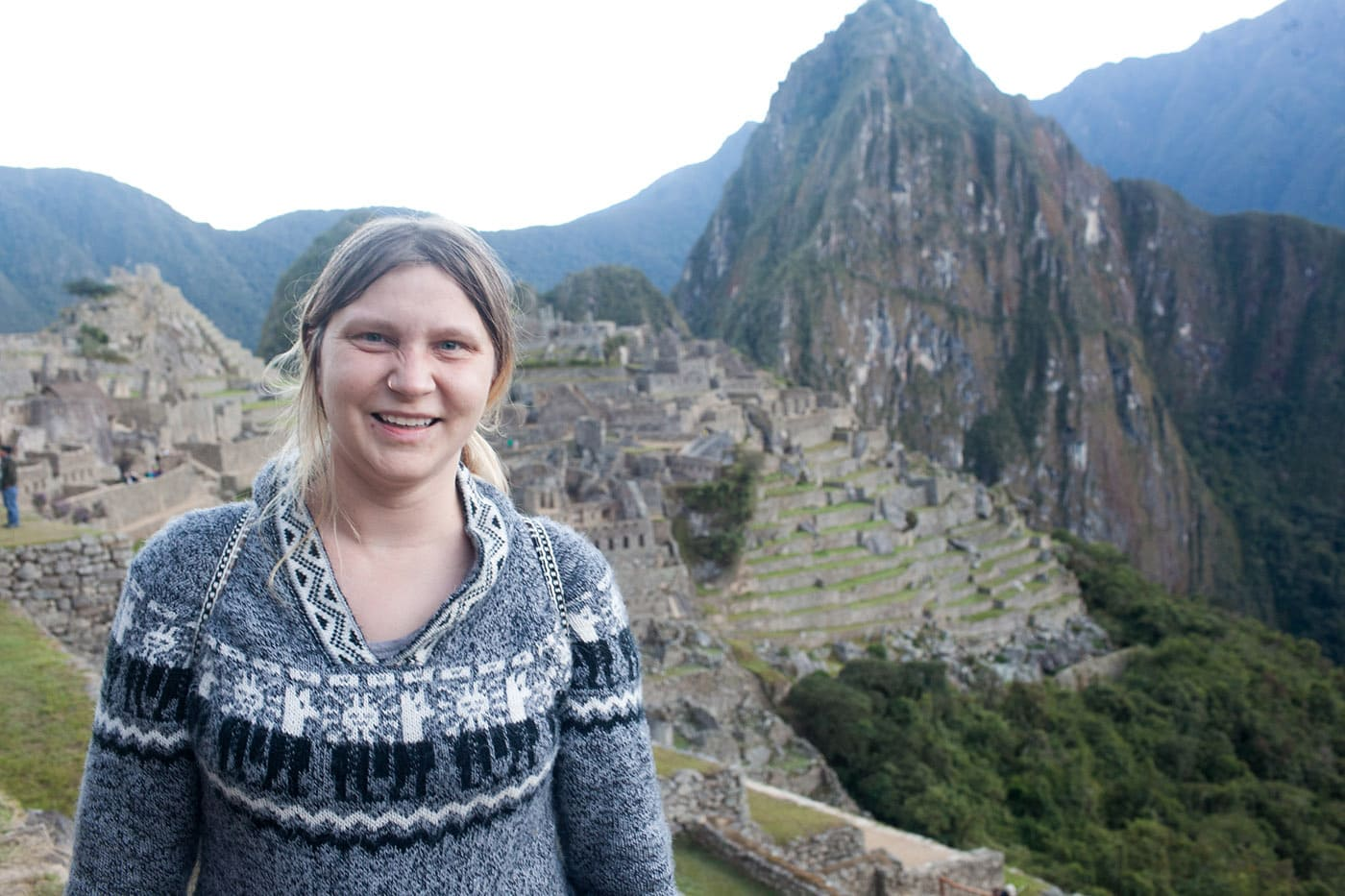 I visited Machu Picchu. | 38 things I've done in my life.