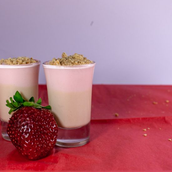 This strawberry cheesecake pudding shots recipe combines everything you love about the rich dessert without the extra effort...and with a lot more alcohol.