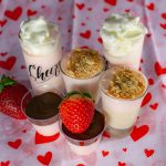 Valentine's day pudding shot recipes to share with your love or to eat as compensation for the fact that you're going to die alone surrounded by cats.