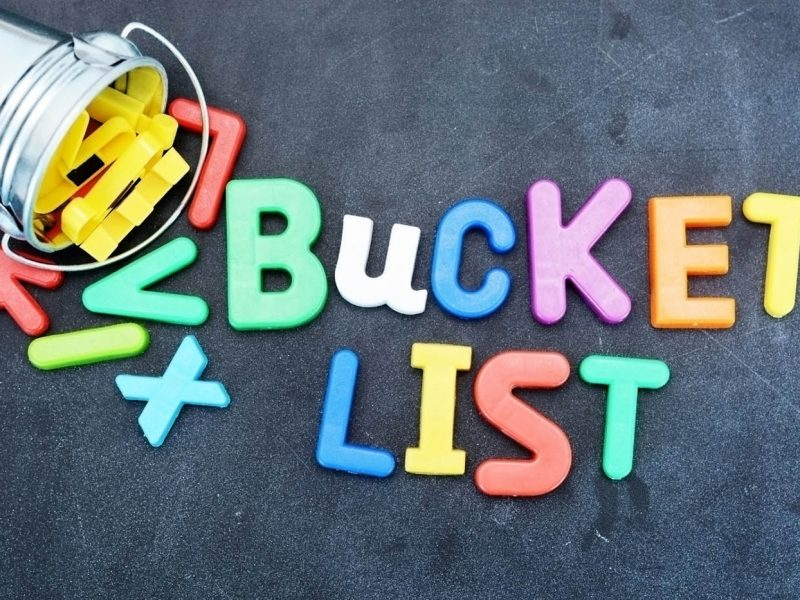 Ultimate bucket list ideas for buckets.