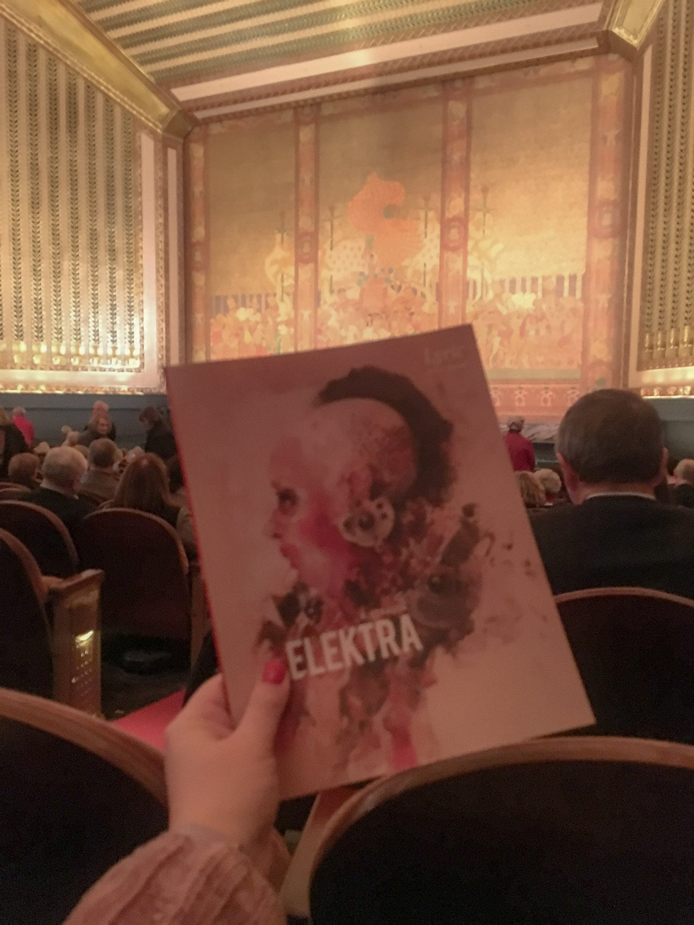Seeing an Opera on Valentine's Day. Elektra at Lyric Opera of Chicago.