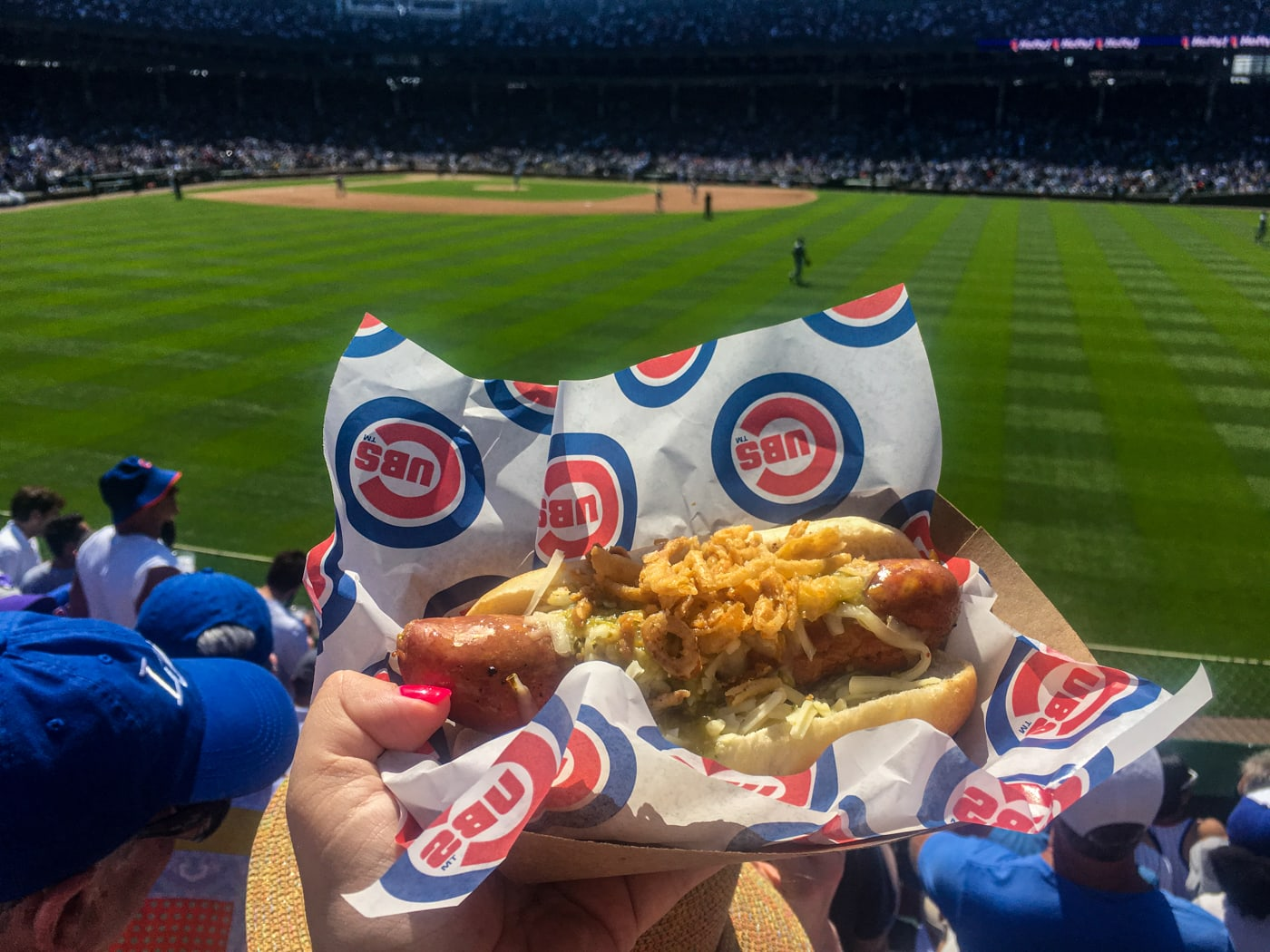The only real reason to go to a Cubs game: Hot Doug's.