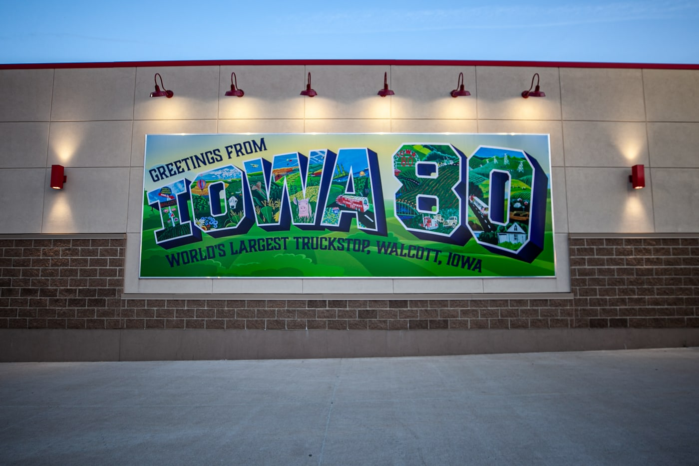 Iowa 80 - the world's larges truck stop in Iowa