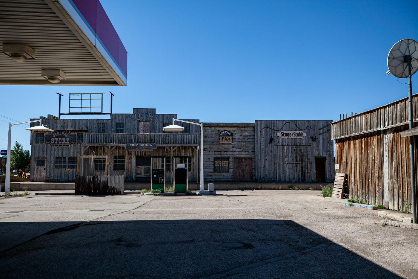 Gunslinger 66: Tumbleweed Gas Station Town in Laramie, Wyoming