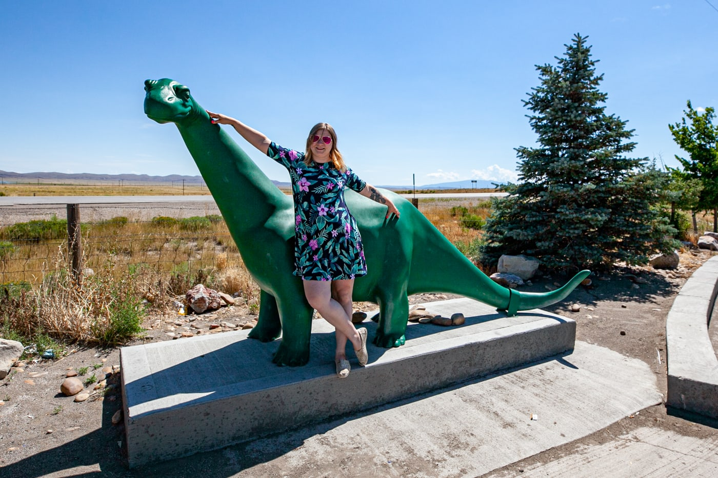 Sinclair Dinosaur in Sinclair, Wyoming