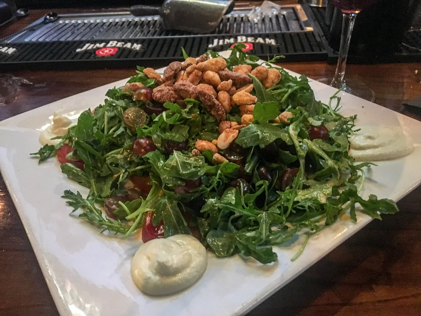 A salad.