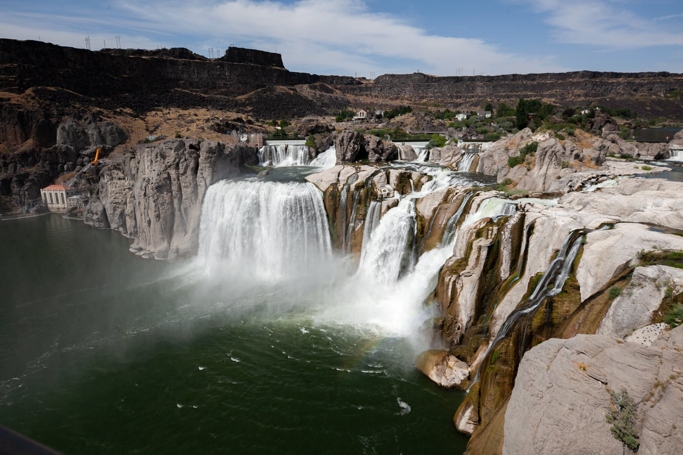 Shoshone Falls in Twin Falls, Idaho. The Niagra of the West.