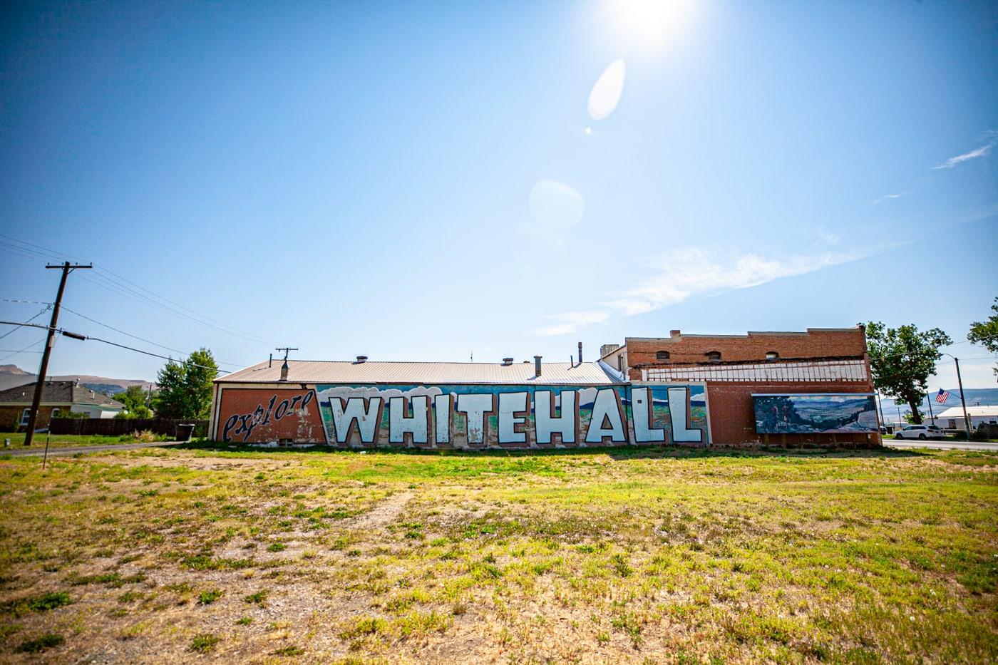 Whitehall Montana mural.