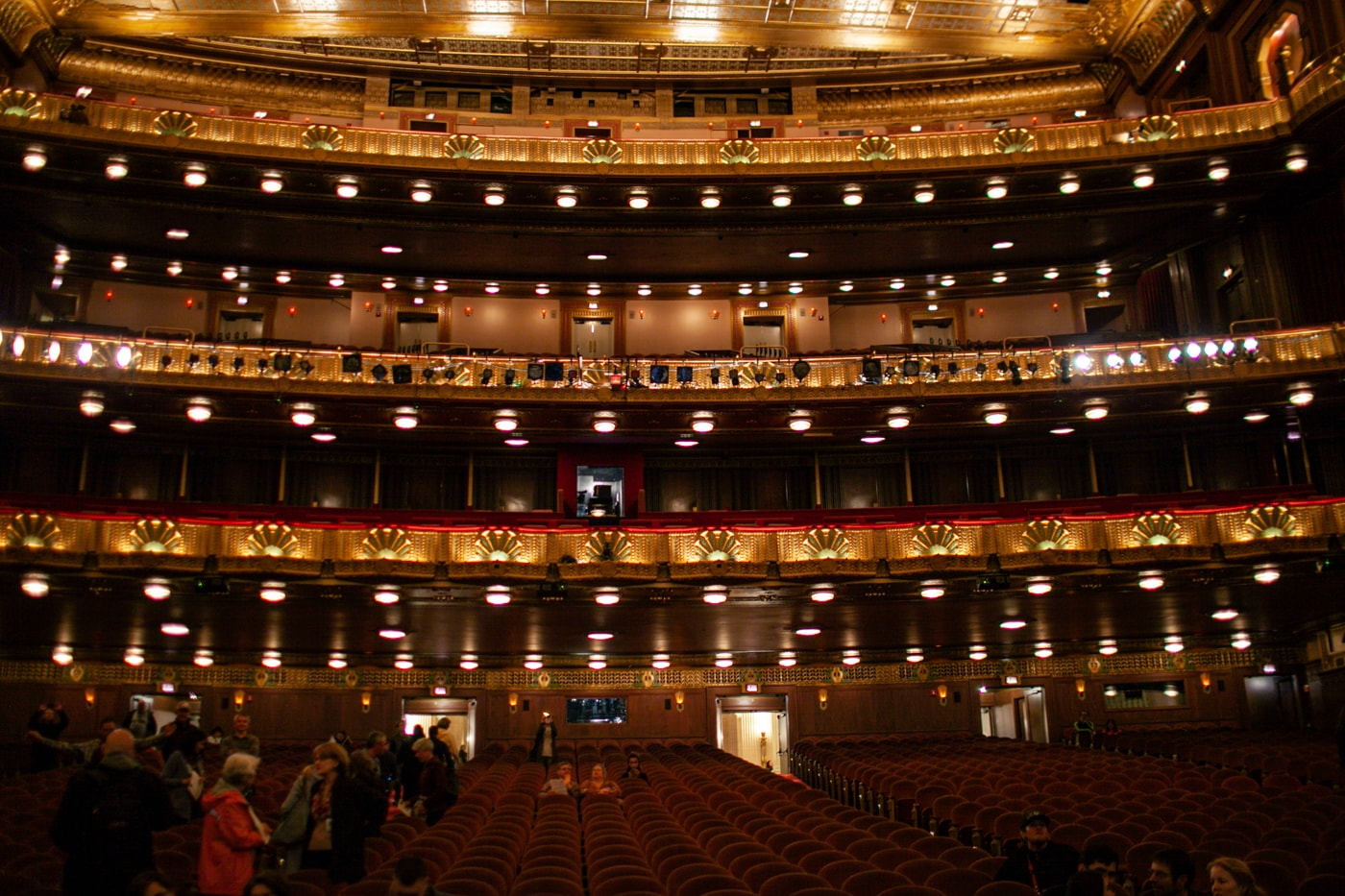 Lyric Opera House at Open House Chicago.