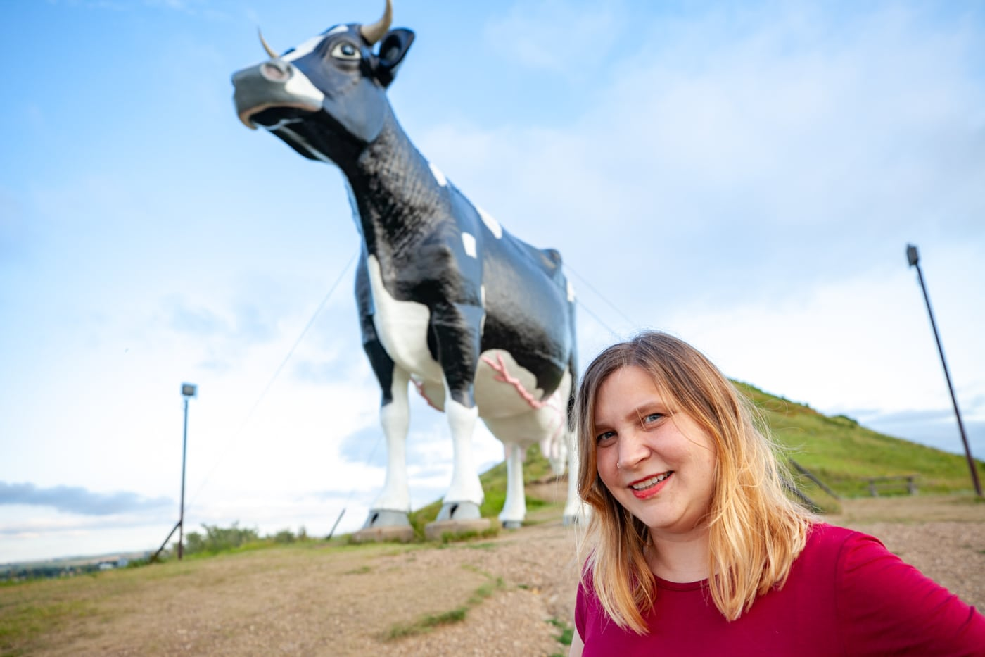 Salem Sue, the world's largest Holstein cow in New Salem, North Dakota