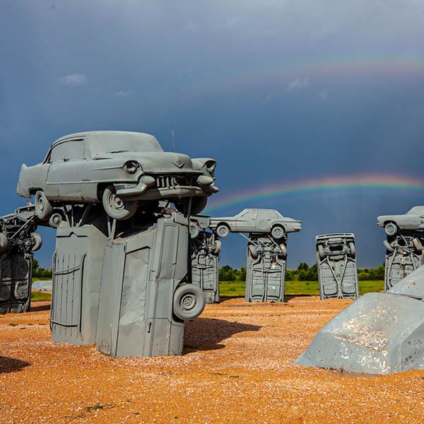 Carhenge in Nebraska - Western Road Trip
